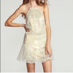 NWT SIZE 12 FREE PEOPLE GHOST MINI DRESS